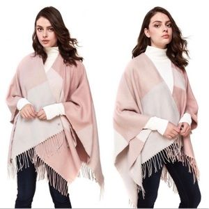 SOIA & KYO WOMENS WOVEN SCARF WITH FRINGE SIZE OS